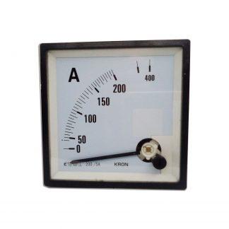 Amperímetro 400a
